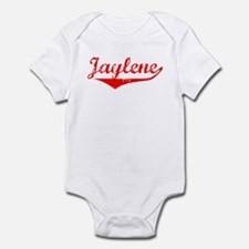 Jaylene Vintage (Red) Infant Bodysuit