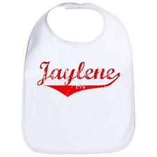 Jaylene Vintage (Red) Bib