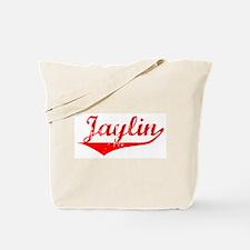 Jaylin Vintage (Red) Tote Bag