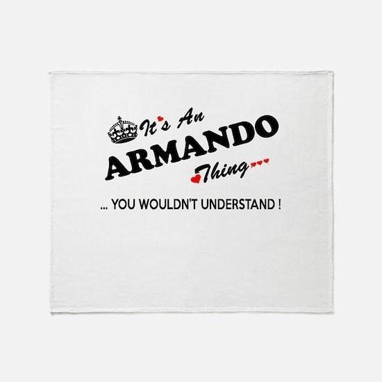 Unique Armando Throw Blanket