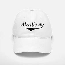 Madisen Vintage (Black) Baseball Baseball Cap