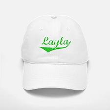 Layla Vintage (Green) Baseball Baseball Cap