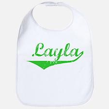 Layla Vintage (Green) Bib