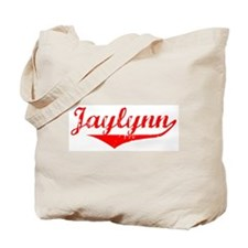 Jaylynn Vintage (Red) Tote Bag