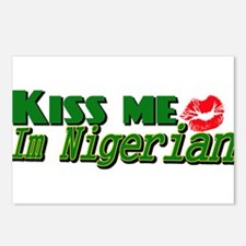 Kiss me im nigerian Postcards (Package of 8)