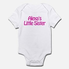 Alexa's Little Sister Infant Bodysuit
