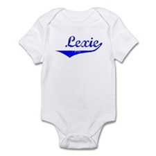 Lexie Vintage (Blue) Infant Bodysuit