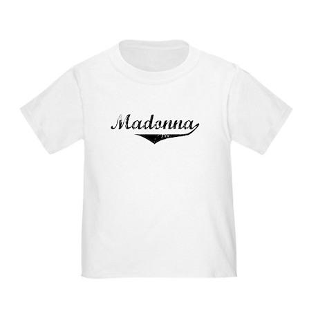 Madonna Vintage (Black) Toddler T-Shirt