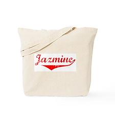 Jazmine Vintage (Red) Tote Bag