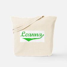 Leanna Vintage (Green) Tote Bag