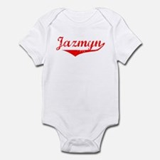 Jazmyn Vintage (Red) Infant Bodysuit