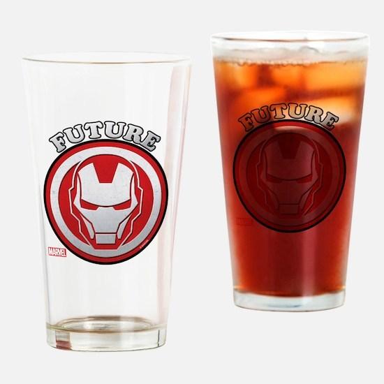 Iron Man Future Drinking Glass