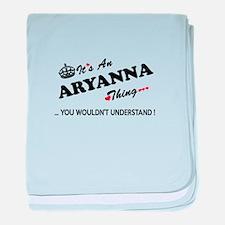 Unique Aryanna baby blanket