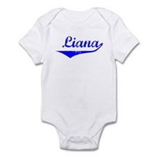 Liana Vintage (Blue) Infant Bodysuit