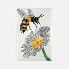 Cute Bee lover Rectangle Magnet