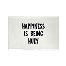 Happiness is being huey Rectangle Magnet