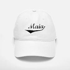 Maia Vintage (Black) Baseball Baseball Cap