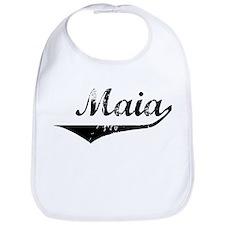 Maia Vintage (Black) Bib