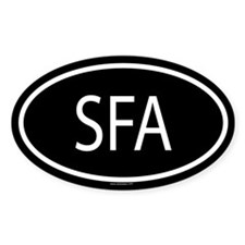 SFA Oval Decal