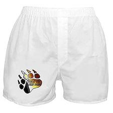 BEAR PRIDE PAW/TALK 2 THE PAW Boxer Shorts