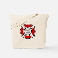 Fire Maltese Tote Bag
