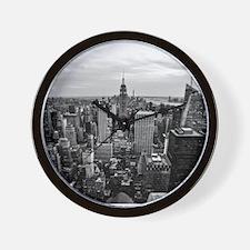 NYC B&W Wall Clock