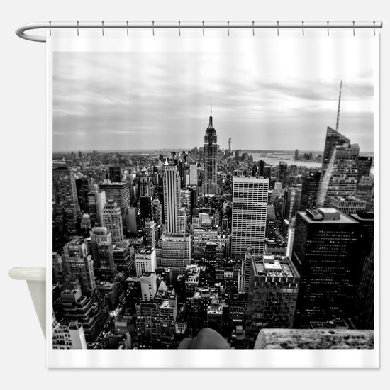 NYC B&W Shower Curtain