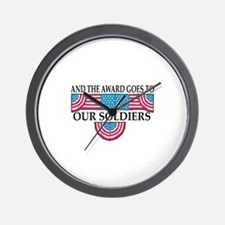 Winning Soldiers Wall Clock