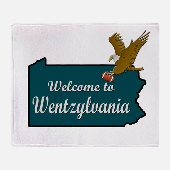 Welcome to Wentzylvania Throw Blanket