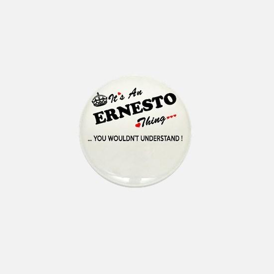 Cute Ernesto Mini Button