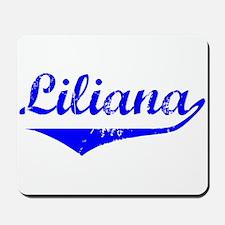 Liliana Vintage (Blue) Mousepad