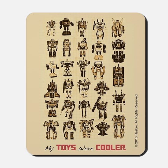Transformers My Toys Were Cooler Mousepad