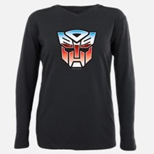 Transformers Autobot Sym Plus Size Long Sleeve Tee