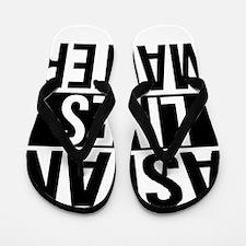 Asian Lives Matter Flip Flops