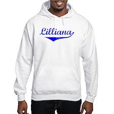 Lilliana Vintage (Blue) Hoodie Sweatshirt