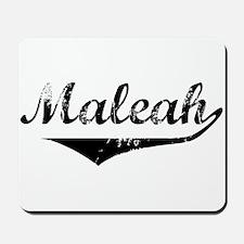 Maleah Vintage (Black) Mousepad