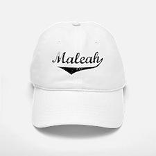 Maleah Vintage (Black) Baseball Baseball Cap