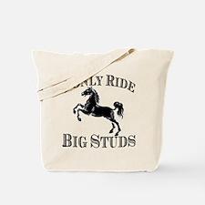 Big Studs - Rearing #1 - Black Tote Bag