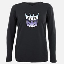 Transformers Decepticon Plus Size Long Sleeve Tee