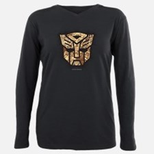 Transformers Autobot Vin Plus Size Long Sleeve Tee