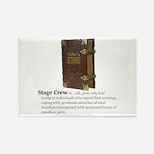 Actor's Dictionary Stage Crew Fridge Magnet