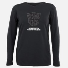 Transformers More Than M Plus Size Long Sleeve Tee