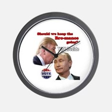 Cute Gop Wall Clock
