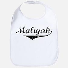 Maliyah Vintage (Black) Bib