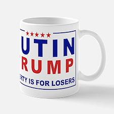 Putin-Trump Liberty Is for Losers Mugs