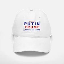 Putin-Trump Liberty Is for Losers Baseball Baseball Baseball Cap