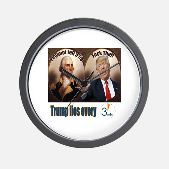 Political presidential election Wall Clock