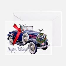 ISADORA DONKEY HAPPY HOLIDAYS Greeting Cards (Pk o