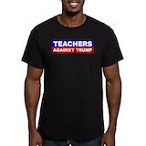 Anti donald trump Fitted Dark T-Shirts