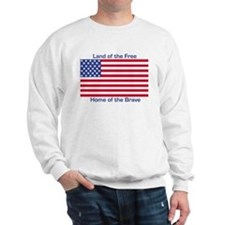 Cute Land of the free because of the brave Sweatshirt